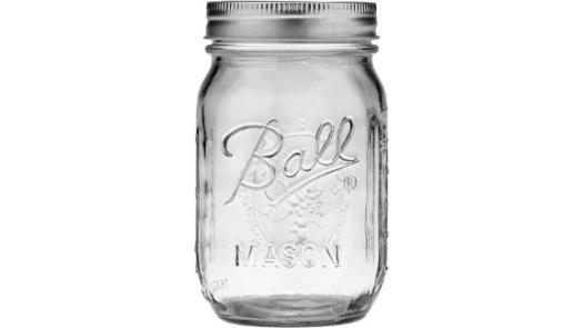 Jarden Ball Regular Mouth 16-Ounces Mason Jar