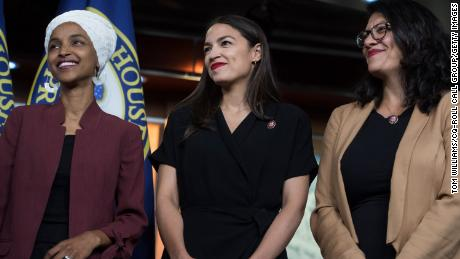 The crowded field of challengers hopes to face Alexandria Ocasio-Cortez, Rashida Tlaib and Ilhan Omar