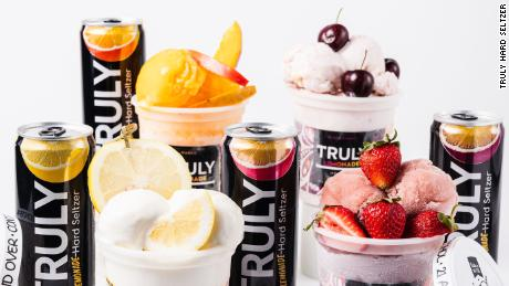 Truly Hard Seltzer offers a new range of ice creams and sorbets.