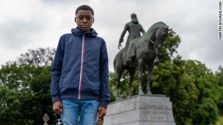 Belgium's King Leopold II has a 21st century nemesis. He's 14 years old