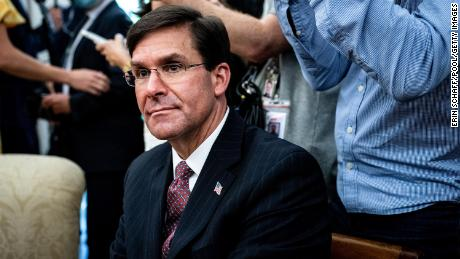 Trump fires Secretary of Defense Mark Esper