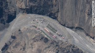 Satellite images show buildup at site of deadly India-China border clash