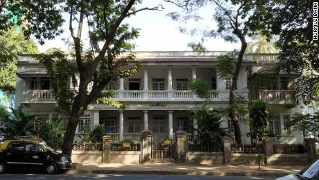 Khorshed Villa, one of the oldest buildings in Dadar Parsi Colony.