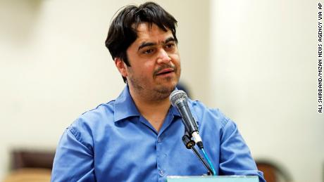 Iran sentences journalist to death, months after he was detained in mysterious circumstances