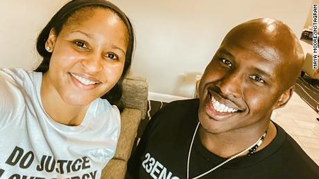 Jonathan Irons was freed from prison with the help of basketball star Maya Moore.