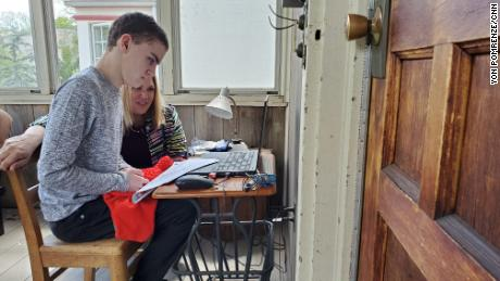 Parents of teens with special needs find themselves alone in Covid-19 lockdown