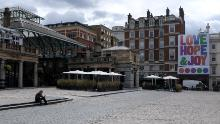 The shopping and entertainment hub, Covent Garden, on July 1, 2020.
