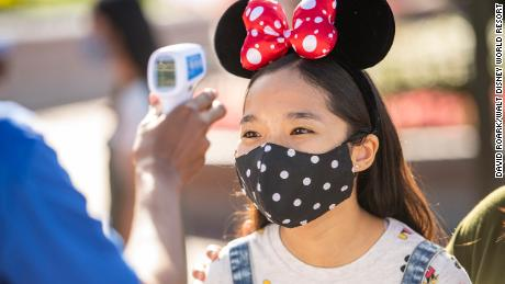 Head of Disney parks at the reopening: `` We are in a new normal ''