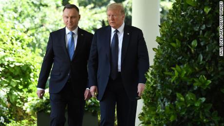 Trump ally Duda declared winner of the Polish presidential race