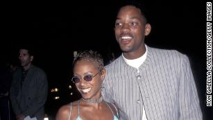 """The couple attends the """"Devil in a Blue Dress"""" premiere in September 1995. Will had been married once before."""