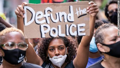 Crime is increasing in American cities.  Some people say that the lapse of police will actually fall