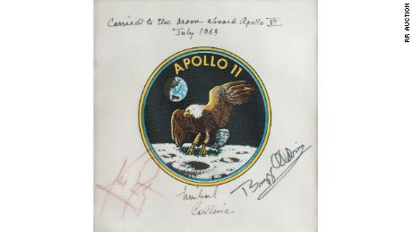 Apollo spaceflight treasure trove has just been auctioned off