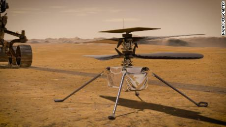 Ingenuity Mars helicopter prepares for the first flight on another planet