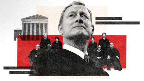 Behind closed doors during one of John Roberts' most amazing years in the Supreme Court