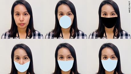 NIST digitally applied mask shapes to the photos and tested the performance of facial recognition algorithms before COVID was exposed.  Because real-world masks vary, the team came up with variants that included differences in size, color, and nose coverage.