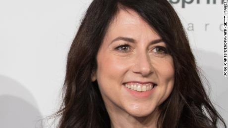 MacKenzie Scott, formerly Bezos, says she has given away $1.7 billion of her wealth so far