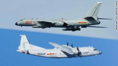 Japan's air force faces a 'relentless' burden, imposed by China