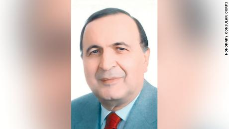Kenya's honorary consul in Lebanon, Sayed Chalouhi.