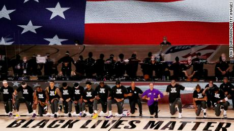 NBA season restarts with a nod to Black Lives Matter and 2 games that went down to the wire