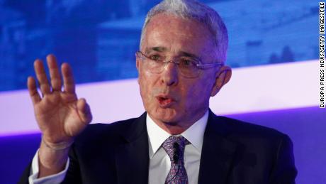 Former Colombian President Álvaro Uribe tests positive for Covid-19 after house arrest order