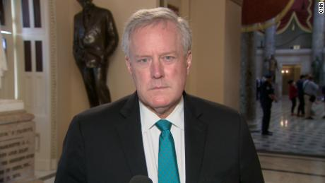 Fact-checking Mark Meadows's misleading statements on mask efficacy in stopping the spread of coronavirus