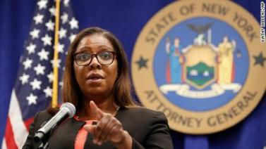 New York attorney general Letitia James files lawsuit to dissolve National Rifle Association - CNN Video