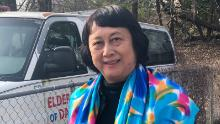Zhang Lianping, 72, retired small business owner in College Park, Maryland.