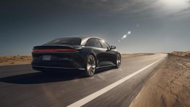 The Lucid Air could be the first electric car with over 500 miles of range