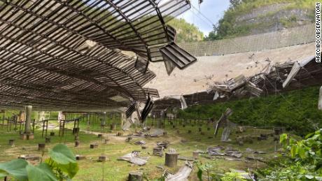 """Arecibo Observatory featured in James Bond film """"Goldeneye"""" shut down"""