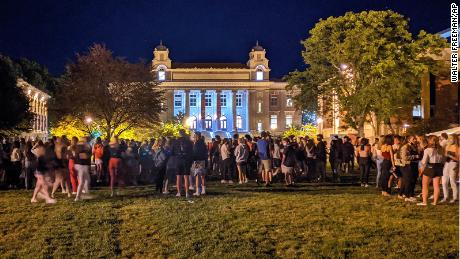 Syracuse University suspends 23 students after 'incredibly reckless' rally