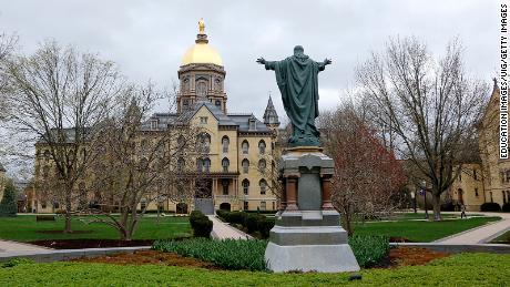 Notre Dame responds to student newspaper's plea regarding Covid-19
