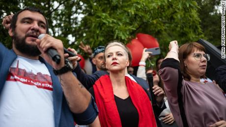 Belarus's opposition leader and leader of protest sentenced to 11 years