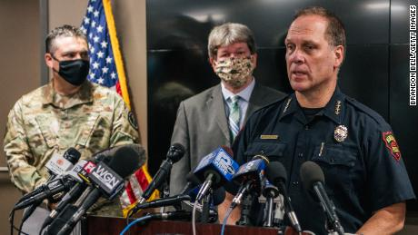 Kenosha police chief says deadly shooting wouldn't have happened if people weren't out after curfew