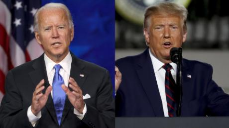 Biden condemns violence in Portland and calls on Trump to do the same