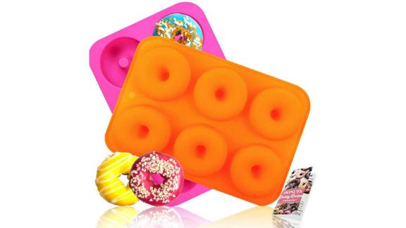 Hehali Silicone Donut Molds, 2-Pack