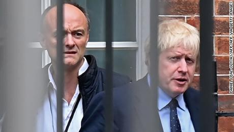 Boris Johnson's own affection for Dominic Cummings was well known in Downing Street.