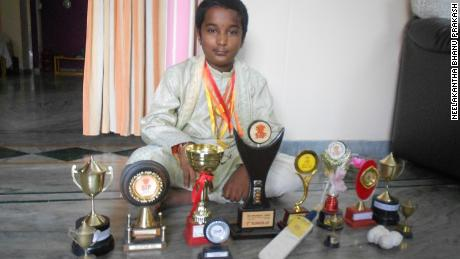 At the age of 10, Bhanu won the Mathematics Tournament trophy in 2010.