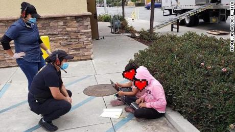 The school sends a California family a hotspot after students go to Taco Bell to use free WiFi