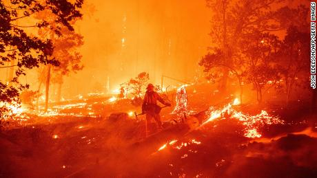 The Creek Fire has grown to more than 135,000 acres in a few days.