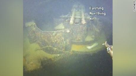 The wreck lay on the seashore for 80 years.