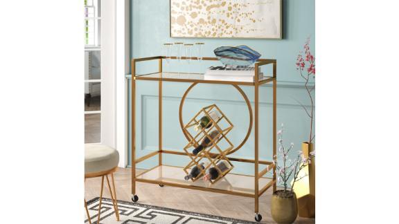 Willa Arlo Interiors Broadridge Bar Cart