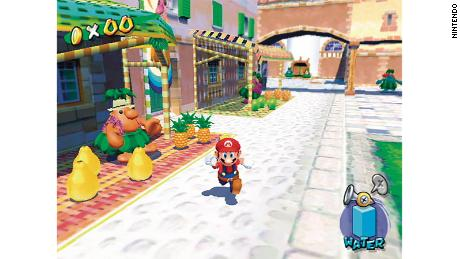 """""""Super Mario Sunshine"""" was supposed to depict the feeling of being on vacation at the height of summer, said game producer Yoshiaki Koizumi."""