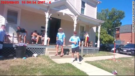 Ohio college students were cited after hosting a house party despite testing positive for Covid-19
