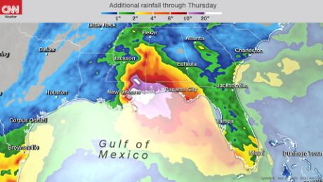 Tropical Storm Sally expected to make landfall as a hurricane near New Orleans 1