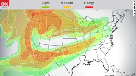 Smoke from the Western wildfires has traveled thousands of miles east to the Midwest and even upstate New York, satellite images show.