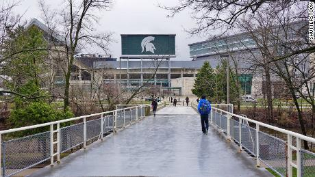 Multiple Michigan State University institutions and fraternity ordered quarantine for 2 weeks after coronovirus spike was tied to students