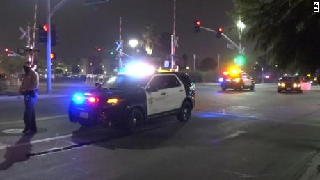 Los Angeles deputy saves partner's life after bleeding from a wound on his face after shooting Compton