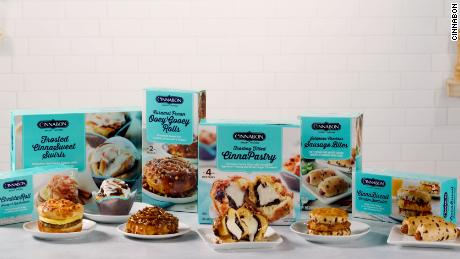 Cinnabon launched its first-ever frozen breakfast line.