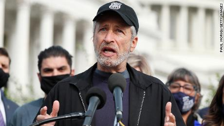 Jon Stewart says Congress is releasing veterans who breathed toxic burn pit fumes