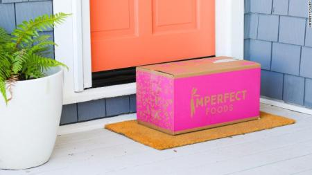 Imperfect Foods boxes are delivered once a week or every other week.